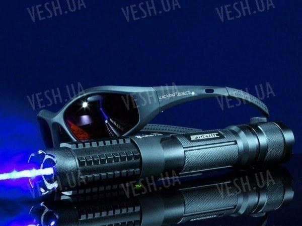 Индиго лазерная указка Spyder III S3 Arctic 1400+мВт