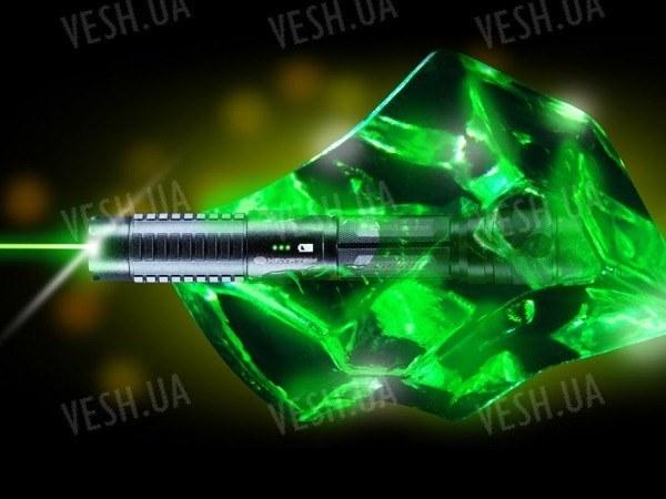Зеленая лазерная указка S3 Krypton 750мВт+