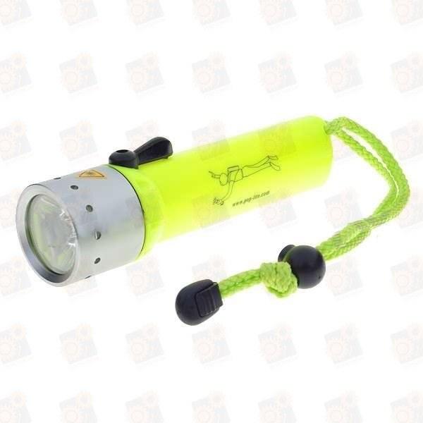 Светодиодный подводный фонарь F2-Q5, 200-люмен 60м