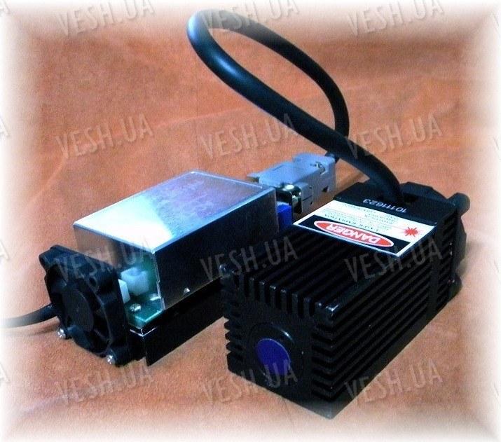 Лазерный модуль 445нм мощность от 0-1000мВт регулируется