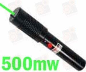 Зеленая лазерная указка 500мВт