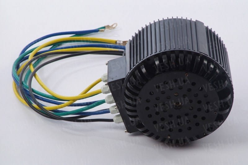 Электромотор BLDC HPM-10KW воздушное охлаждение