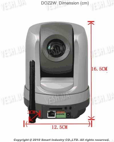Беспроводная Wi-Fi цветная IP web камера H.264 SONY CCD 27x PTZ