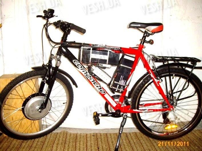 Вело спорт байк Электро Comanche 2012