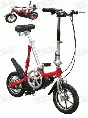 Электровелосипед TYF-002 красный