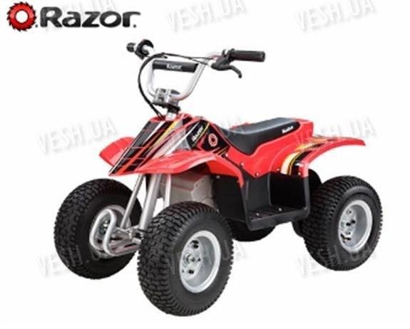 Электроквадроцикл Dirt Quad Red