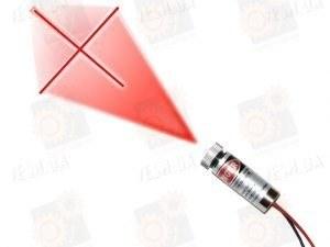 Лазерный модуль с фокусировкой (крест) 20мВт