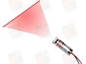 Лазерный модуль с фокусировкой (линия) 40мВт