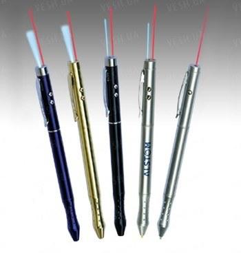 Многофункциональная лазерная указка с функцией ручки  4 в 1