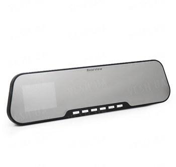 Автомобильное зеркало заднего вида со встроенным H.264 720p автомобильным регистратором, 2.7 дюймовым LCD экраном, поддержкой памяти до 32 Gb (модель D600)