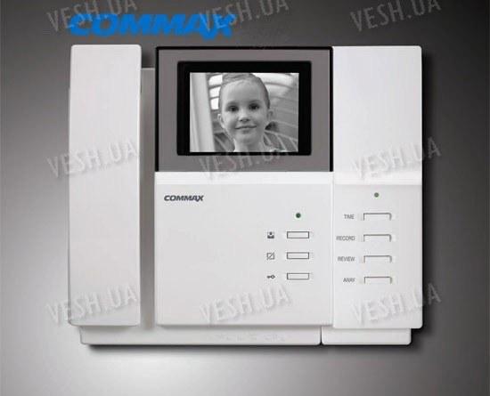 Черно-белый видеодомофон COMMAX DPV-4PN