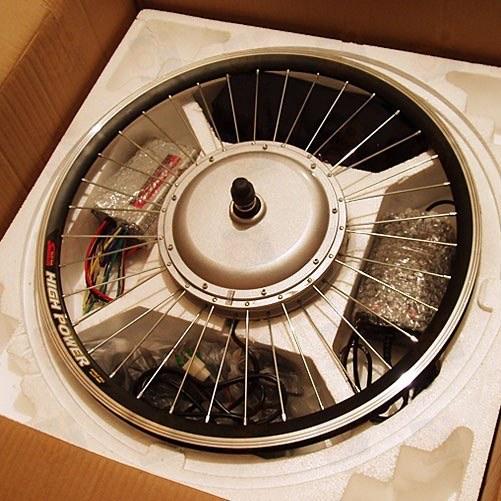ЭЛЕКТРОНАБОР для велосипеда 500Вт (стандарт заспицованный) 28' дюймов