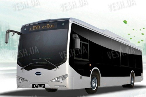 BYD EBUS-12 Электроавтобус (спецтранстпорт)