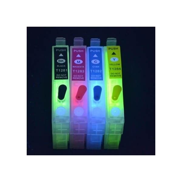 Картридж EPSON T1711-T1714 с невидимыми чернилами УФ UV (светятся в ультрафиолете)