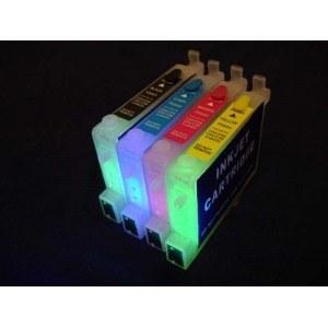 Картридж EPSON T0441-T0444 с невидимыми чернилами УФ UV (светятся в ультрафиолете)