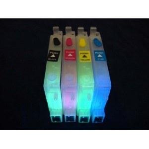 Картридж EPSON T0601-T0604 с невидимыми чернилами УФ UV (светятся в ультрафиолете)