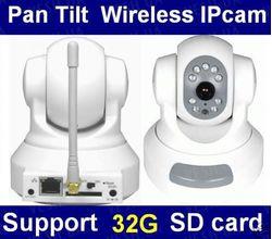 H.264 беспроводная WI-FI цветная поворотная автономная интернет IP камера (модель GD-2805)