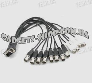 16-ти канальная H.264 компьютерная PCI плата видеозахвата для CCTV камер + 8 звуковых каналов + ТВ выход (200 fps)
