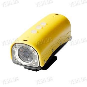 Автономная спортивная HD720P водонепроницаемая подводная видео камера с разрешением 1280x720@30 fps до 3-х часов съёмки на глубине до 20 метров (модель RD32)