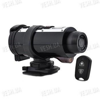 Спортивный автономный водонепронецаемый видеорегистратор HD 720P с разрешением 1280x720@30FPS с пультом ДУ (модель Poseidon)