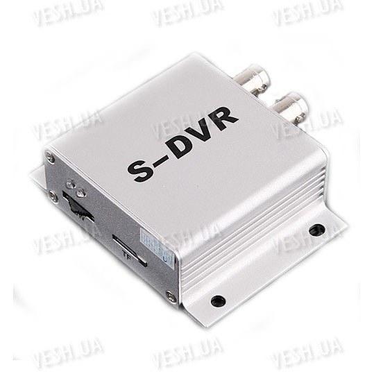 Портативный бюджетный одноканальный мини видеорегистратор DVR с разрешением 640х480 без звука (модель S-DVR)