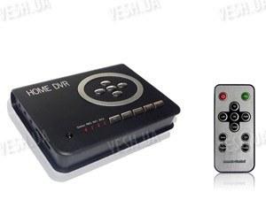 Портативный цифровой 2-х канальный мини видеорегистратор с возможностью записи по движению 720*576@30fps на SD карты до 32 Gb (модель Home DVR)