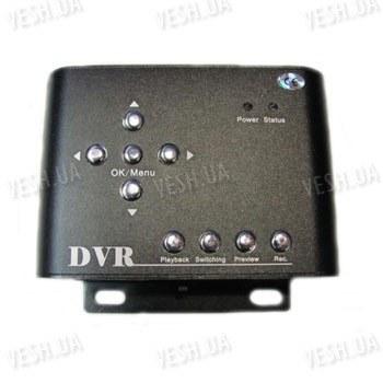 2-х канальный портативный DVR видеорегистратор с разрешением 720х576 и записью на SD карту памяти (одновременная запись с 2-х каналов)