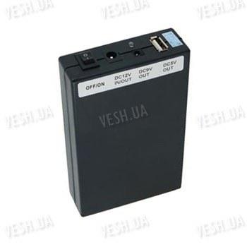 Универсальный 3-х режимный литий-полимерный перезаряжаемый аккумулятор (12V/6500mA - 9V/8500mA - 5V/15000mA)