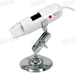 Портативный 1.3 мегапикселя USB микроскоп с 200 Х кратным увеличением