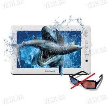 Портативный мультимедийный 8-ми дюймовый 3D Full HD 1080p MP4 видео плеер с возможностью расширения памяти до 32 Gb