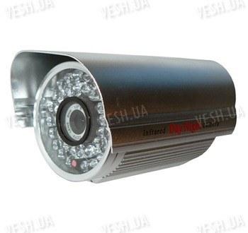 Цветная уличная (наружная) видеокамера с IR подсветкой до 40 метров, 1/3 Sony, 480 TVL, 0 LUX, f=8 мм (модель 901 DS)
