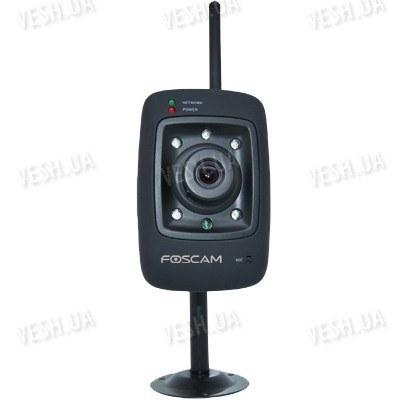 Беспроводная Wi-Fi цветная  IP web камера с ИК подсветкой FOSCAM FI8909W