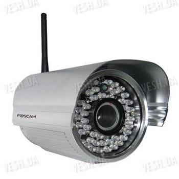 Профессиональная уличная наружная беспроводная Wi Fi сетевая IP видео камера (модель FOSCAM FI8905W)