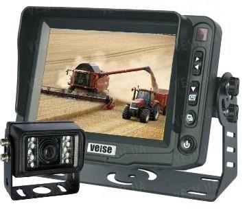 Камера автомобильная задняя для фур c монитор 5' LCD
