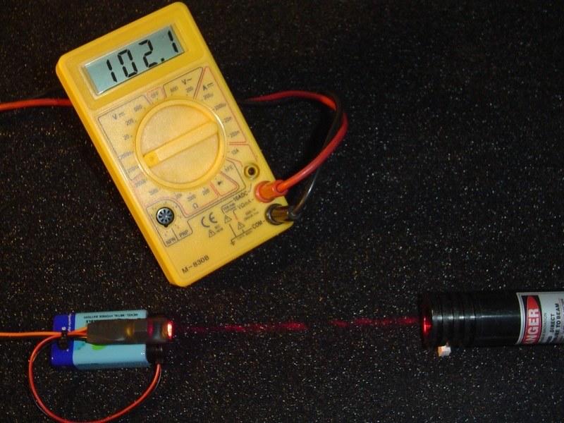 200мВт Лазерный измеритель мощности
