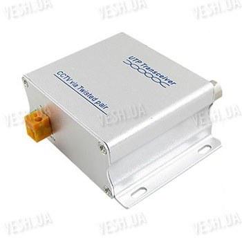 Активный универсальный одноканальный приёмник - передатчик видео сигнала по витой паре UTP на расстояние до 1500 метров