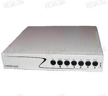 Стационарный H.264 бюджетный 4-х канальный видеорегистратор с поддержкой сети (HYPERTRON-400NET)