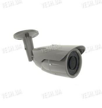 Цветная видеокамера в антивандальном корпусе 700TVL 1/3 HITACHI, PAL, 942Hx672V, 700Lines, объектив варифокальный 2,8-11mm, ИК-подсветка до 30м (XP-384HWAI)