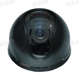 Черно-белая купольная видеокамера 1/3 SONY, 420 TVL, 0,5 lux (модель 303 Sony mini)