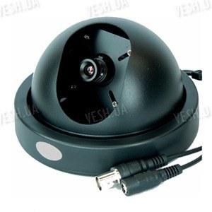 Черно-белая купольная видеокамера 1/3 Sony, 420 TVL, 0.1 lux (модель 303 Sony)