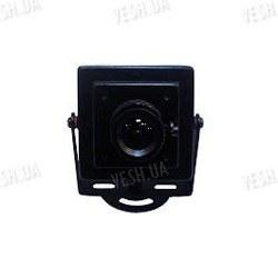 Черно-белая квадратная МИНИ видеокамера 1/3 LG, 420 TVL, 0,5 LUX (модель 501)