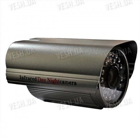 Цветная уличная (наружная) видеокамера с IR подсветкой до 40 метров, 1/3 SONY, 420 TVL, 0 LUX, f=8mm (модель 611)