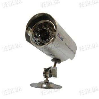 Чёрно-белая уличная (наружная) видеокамера с IR подсветкой до 20 метров, 1/3 Sony, 420 TVL, 0 LUX (модель 860 BS-1)