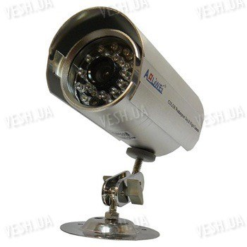 Цветная уличная (наружная) видеокамера с IR подсветкой до 20 метров, 1/3 Sony, 420 TVL, 0 lux (модель 860 CS-1)