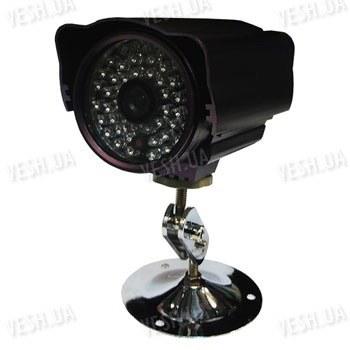 Чёрно-белая уличная (наружная) видеокамера с IR подсветкой до 30 метров, 1/3 Sony, 420 TVL, 0 LUX (модель 848 BS)