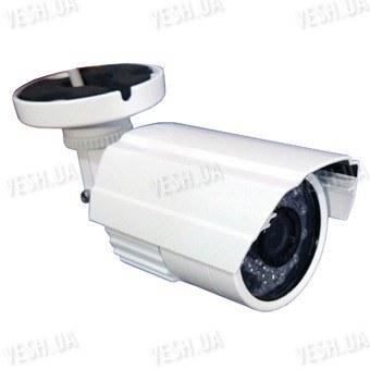 Цветная уличная (наружная) видеокамера с IR подсветкой до 15 метров, 1/3 Sony, 420 TVL, 0 lux (модель 817 W)