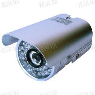 Цветная уличная (наружная) видеокамера с IR подсветкой до 40 метров, 1/3 Sony HAD, 420 TVL, 0 LUX, f=8 мм (модель 902 DS)