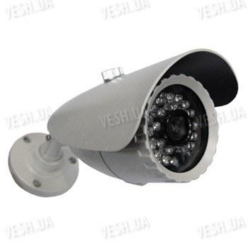 Цветная уличная (наружная) видеокамера с IR подсветкой до 20 метров, 1/3 Sony, 420 TVL, 0 LUX, кронштейн 3D (модель 817 Q)