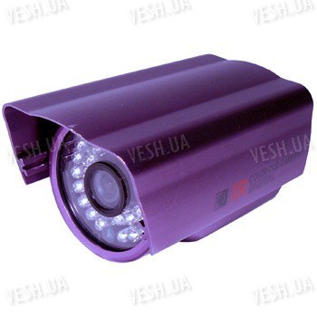 Цветная уличная (наружная) видеокамера с IR подсветкой до 20 метров, 1/3 Sony, 520 TVL, 0 LUX, f=8 мм (модель 603 AS)
