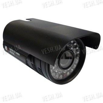 Цветная уличная (наружная) видеокамера с IR подсветкой до 40 метров, 1/3 Sony, 420 TVL, 0 LUX, f=8 мм,день/ночь, механический ИК фильтр (модель 836 CH)